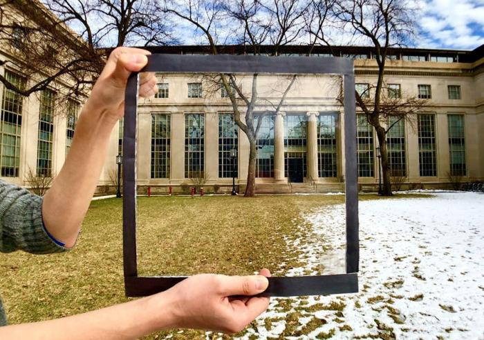MIT researchers have developed a coating for windows that rejects up to 70 percent of incoming solar heat. Courtesy of the researchers