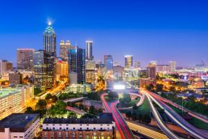 Researchers looked at 11 metro areas — including Atlanta, Georgia, pictured — to examine how much local emissions-reductions programs can help combat climate change. They found that there is likely to be greater impact in the area of residentia...