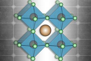Perovskites, a family of materials defined by a particular kind of molecular structure as illustrated here, have great potential for new kinds of solar cells. A new study from MIT shows how these materials could gain a foothold in the sola...