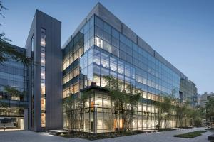Designed by Wilson HGA and completed in 2018, the 216,000 square-foot MIT.nano building, located in the heart of MIT's campus, is a shared resource for MIT faculty, students, and researchers, as well as external academic and industry users.Photo...