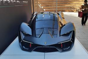 The Terzo Millenio, or Third Millennium, concept car from Lamborghini marks an ambitious collaboration between the Italian automaker and researchers at MIT.Photo: Emrick Elias