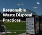 Responsible waste disposal practices