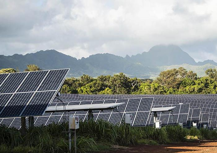 The AES Corporation, based in Virginia, installed the world's largest solar-plus-storage system on the southern end of the Hawaiian island of Kauai. A scaled-down version was first tested at the National Renewable Energy Laboratory. Photo: Denni...