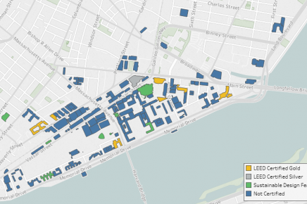 Sustainable Buildings Map